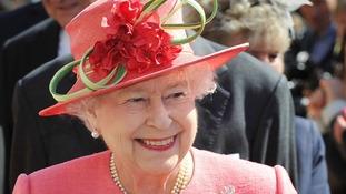 The Queen on her Diamond Jubilee Tour in Birmingham