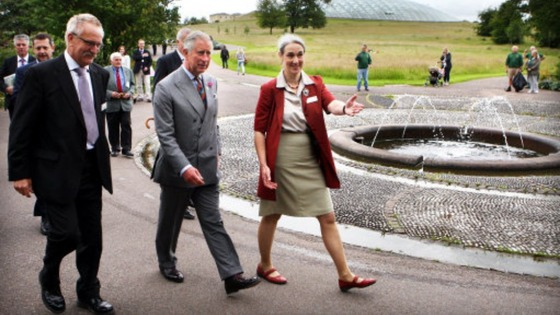 Prince of Wales at Botanic Garden