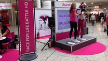 Race for Life events in Yorkshire officially launced at Meadowhall