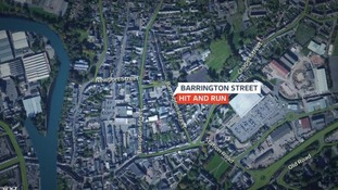 Did you witness a hit and run on or near Barrington Street in Tiverton?