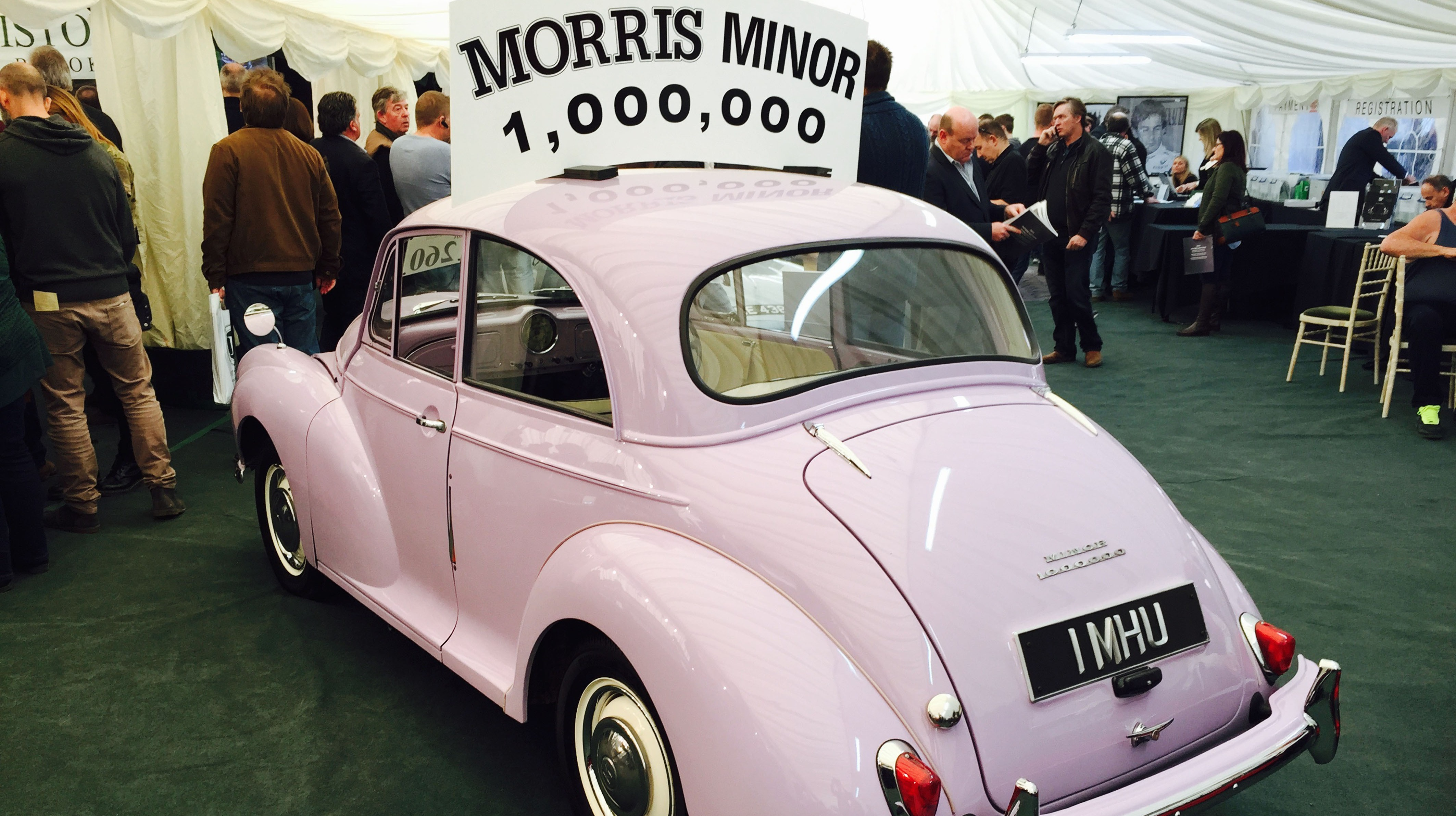 One Millionth Morris Minor Sells For Over 163 25 000 At