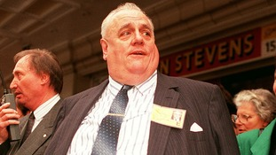 Cyril Smith pictured in 1990.