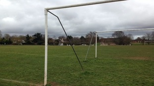 14 football matches have had to be cancelled at King George V playing fields in Exeter