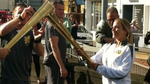 Salisbury torch relay