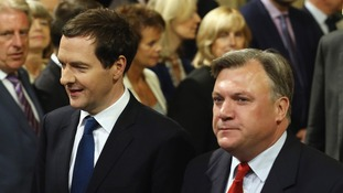 Ed Balls warns of Osborne's 'extreme and risky cuts'.