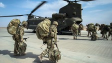 The British Army could be left with just 50,000 service personnel.