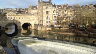 Bath has been named the second safest city in the world