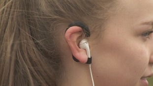 Music for athletes: students design clip for earphones