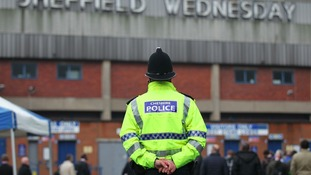Police at Hillsborough