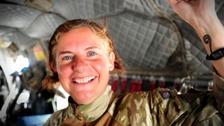 Former Flt Lt Michelle Sanderson has spoken of her battle with PTSD