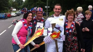 Olympic torch in Dorset: Our highlights. Your pictures!