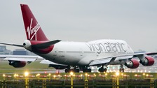 Virgin Atlantic reports its first profit since 2011.