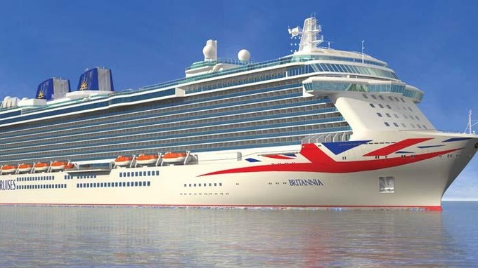 Cruise Ship Britannia In Numbers Meridian ITV News - Britannia cruise ship