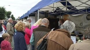 Market Place hosts plenty of popular events, like Taste Cumbria.