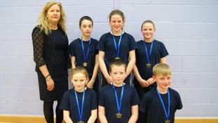 Brydekirk Braves came third
