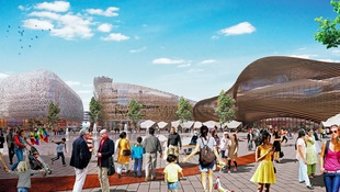 An artist impression of what the Birmingham Smithfield site would look like