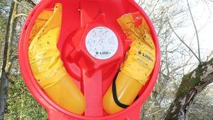 Two buoyancy aids were taken
