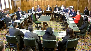 The families gave evidence to MPs