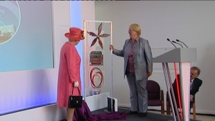 The Queen officially opening the New Queen Elizabeth Hospital in Birmingham