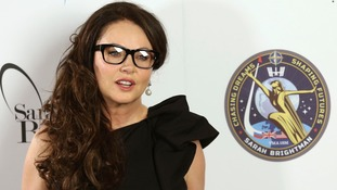Will soprano Sarah Brightman be able to sing in space?
