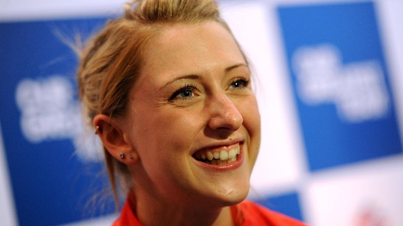 Great Britain&#x27;s Laura Trott 