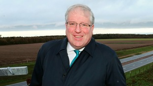 Transport Secretary, Patrick McLoughlin