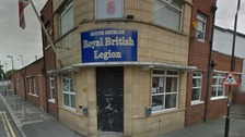 The Royal British Legion in South Shields was targeted in the campaign.