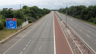The M4 has been re-opened