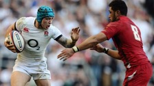 Jack Nowell in action at last year's Six Nations