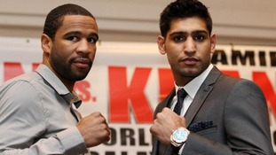 Amir Khan and Danny Garcia