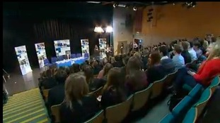 School election debate at Thomas Gainsborough School in Sudbury