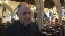 The Bishop of Exeter, Rt Rev Robert Atwell