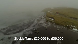 Stickle Tarn has a guide price of £20,000 to £30,000.