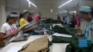 Factories used by a number of well-known retailers were accused of labour abuses.