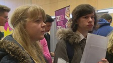 The event took place at Dumfries and Galloway College.