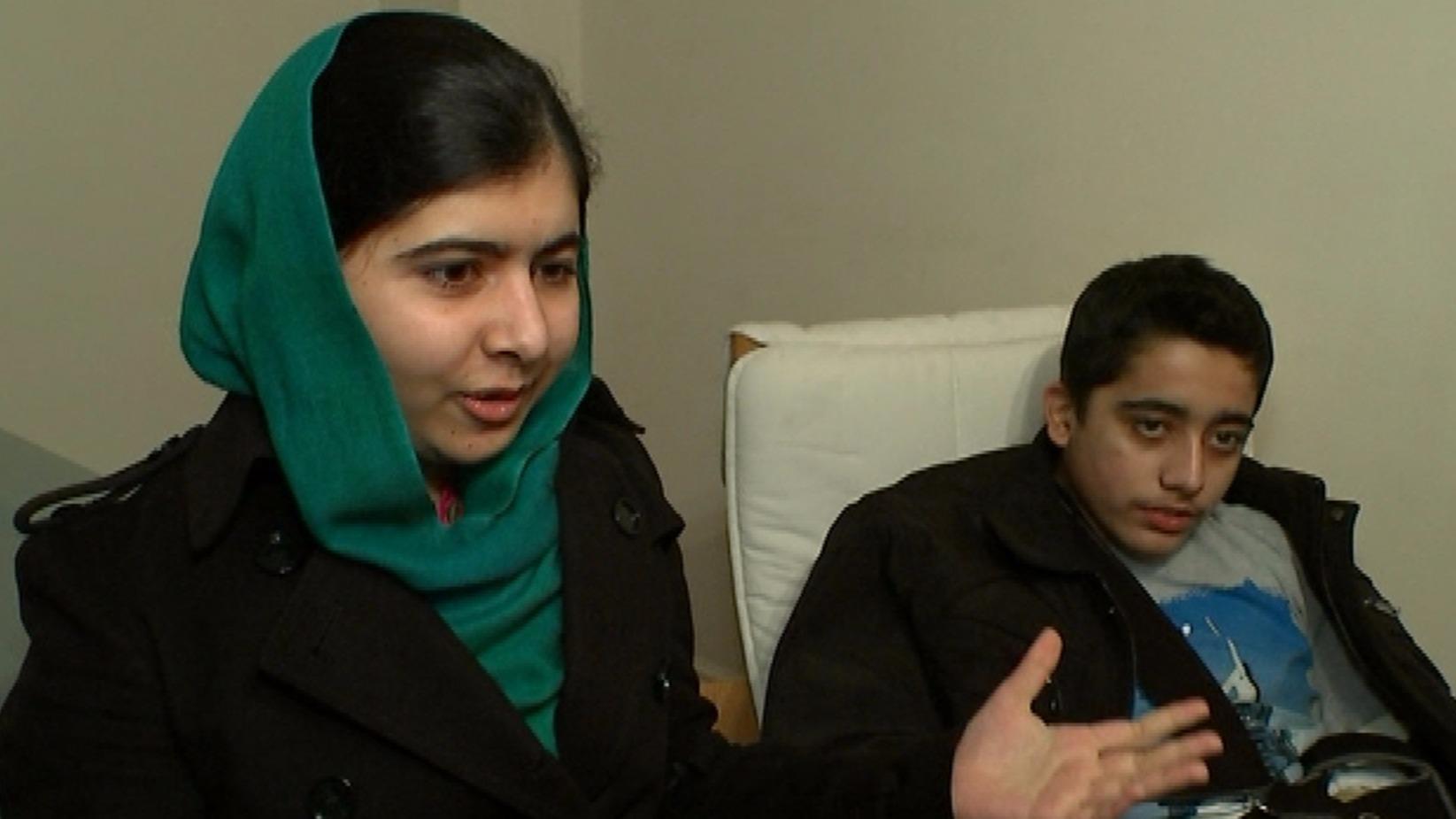 malala yousafzais fight for education In pakistan, malala says she will continue fight for girls' education march 29, 2018 pakistani nobel peace prize winner malala yousafzai, left.