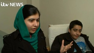 'My brother in the fight for education': Malala Yousafzai meets survivor of Peshawar school massacre
