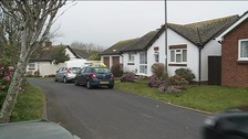 The elderly couple were found dead at their bungalow in Paignton last night