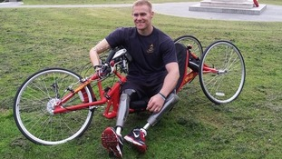 Former Royal Marine Mark Ormrod from Plymouth will be attending a ceremony at 40 Commando near Taunton