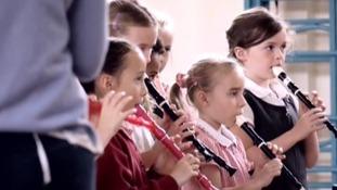 Gaywood School children