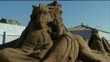 Weston super Mare's sand sculpture festival will return