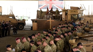 The event marks the end of UK Combat Operations in Afghanistan.