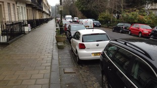 Residents parking in Clifton