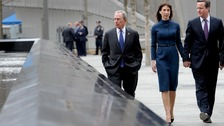 David and Samantha Cameron at Ground Zero