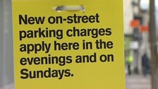 The last time parking charges changed in the city