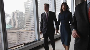 David and Samantha Cameron viewing Ground Zero