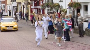 Day 56 of torch relay: Last chance to see it in the South West