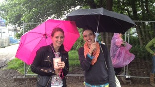 Rain doesn't stop play at Latitude