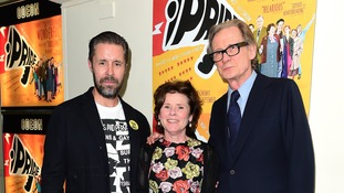 Paddy Considine, Imelda Staunton and Bill Nighy