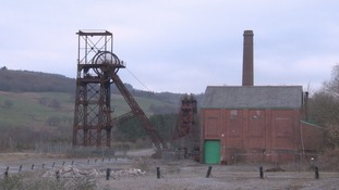 The former Cefn Coed/Blaenant Colliery in nearby Crynant